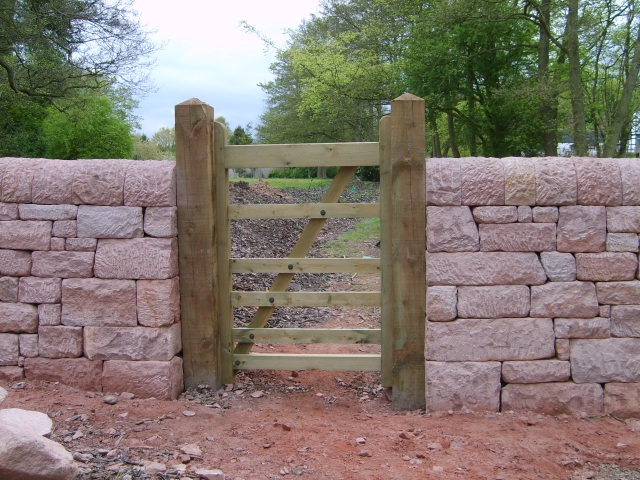Dry Stone Walling in Staffordshire